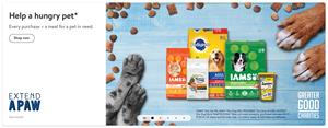 Greater Good Charities and Mars Petcare Launch Extend a Paw